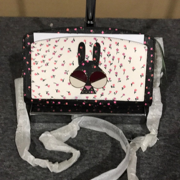 NWOT Kate Spade Spademal Bunny Crossbody